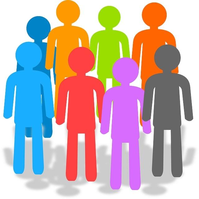 pictogramme symbolisant les hommes et les femmes du réseau associatif