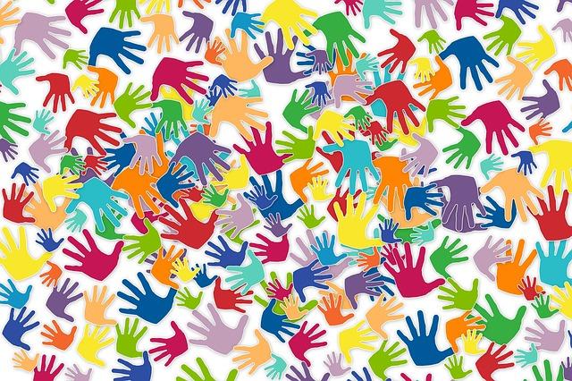 pictogramme de mains symbolisant les Bénévoles